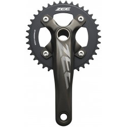 Shimano FC-M640 ZEE chainset and 68 and 73 mm bottom bracket, 36T, 165 mm