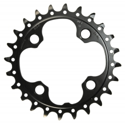 Shimano FC-M660 chainring black 24T