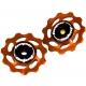Hope Jockey Wheels (pair) - Orange