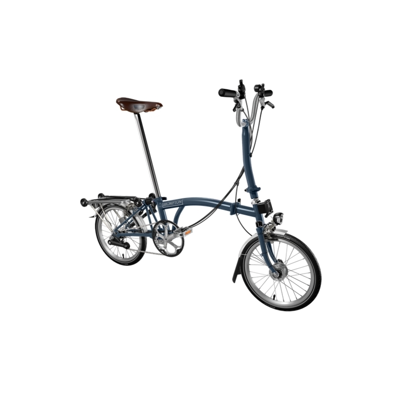 2c0942f9d Brompton 2016 H6R Tempest Blue folding bicycle