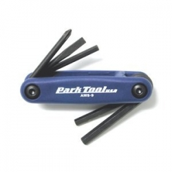 Park Tool USA Fold-up Allen Key and Screwdriver Set