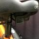 Brompton CatEye saddle mounted rear light - showing bracket