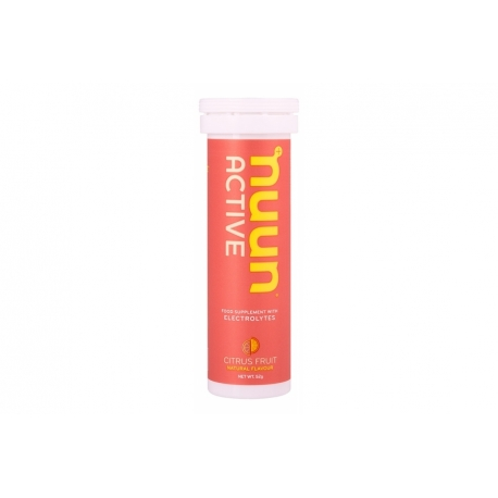 Citrus fruit electrolyte enhanced drink tablets by nuun