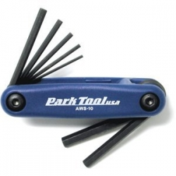Park Tool USA Fold-up Allen Key Set 1.5-6mm