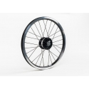 BLACK Brompton SP SV-8 hub dynamo - wheel only (plus fixings)