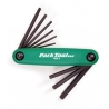 Fold up torx wrench set - TWS-2 - from Park Tool USA