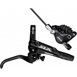 Shimano BR-M7000 SLX bled I-spec-II ready brake lever/Post mount calliper - front