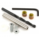 Brompton Rear hinge bush and spindle kit, excluding reamer