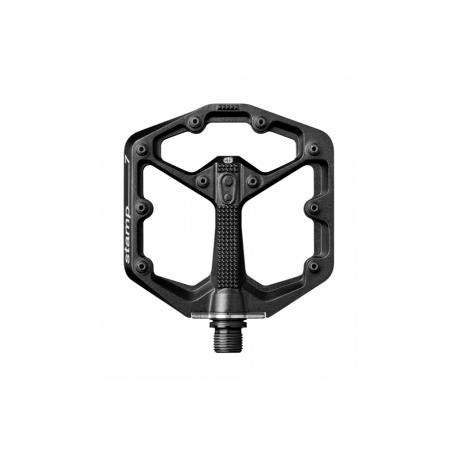 crankbrothers stamp 7 flat MTB pedal - black - small