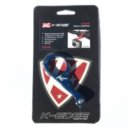 K-Edge Go-Big Pro handlebar camera or light mount - Blue - 31.8mm