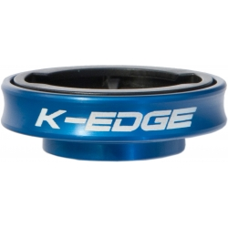 K-Edge Gravity Cap Mount for Garmin Edge  computers - blue