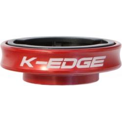 K-Edge Gravity Cap Mount for Garmin Edge  computers - red