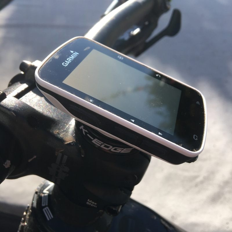 K Edge Gravity Cap Mount For Garmin Edge Computers