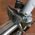 Front reflector including bracket for your Brompton