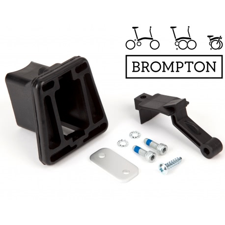 Brompton front carrier block assembly - for front Brompton luggage