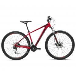 Orbea MX40 mountain bike - red/black 29 inch side view