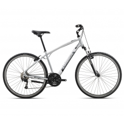 Orbea Comfort 20 leisure bike - grey and black - side view