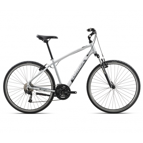 Orbea Comfort 20 leisure bike - grey and black - side view