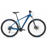 Orbea MX20 mountain bike 2018 - blue and red - side view