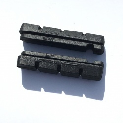 Brompton brake pad inserts - unpacked - top view