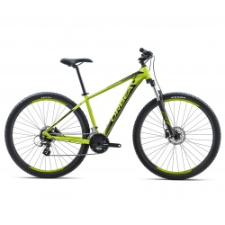 Orbea MX50 mountain bike 2018 - Pistachio / Black side view