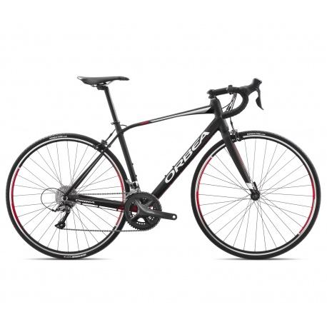 Orbea AVANT H60 endurance road bike - 2018 - black/red/white - side view