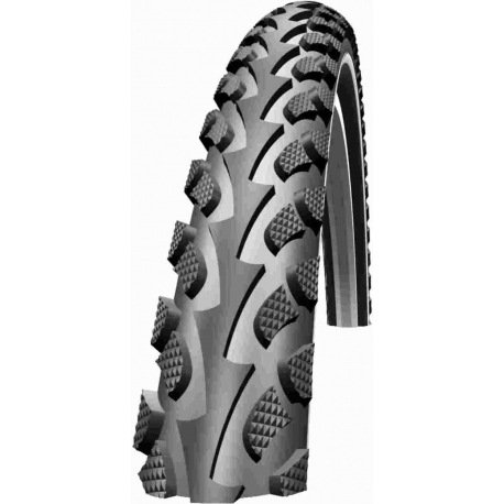"""Land Cruiser 26 x 1.75 """" Tyre with Puncture Protection Belt from Schwalbe"""