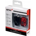 Infini Lava twin pack USB front and rear light set