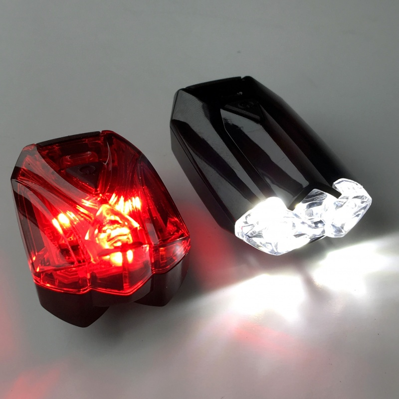 Rechargeable Bike Light Set Infini Lava Front And Rear