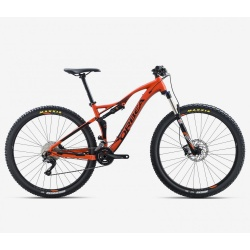 Orbea Occam TR H50 mountain bike 2018 - orange - side view