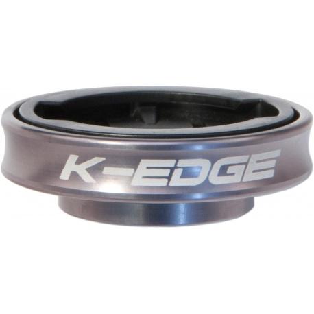 K-Edge Gravity Cap Mount for Garmin Edge computers - gunsmoke