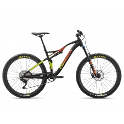 Orbea Occam AM H30 mountain bike 2018 - black / orange and pistachio