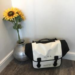 Brompton Ortlieb bag - white