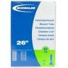 """Schwalbe 26 x 1.5 - 2.5 """" inner tube for mountain bike shraeder / car type valve"""