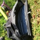 Brompton S-Bag Union Jack - front of bag with flap rolled back