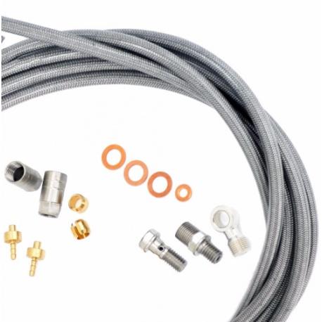 Hope stainless steel braided hose kit