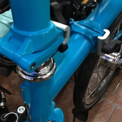Brompton 2017 M6L - Lagoon Blue - looks better in real life!