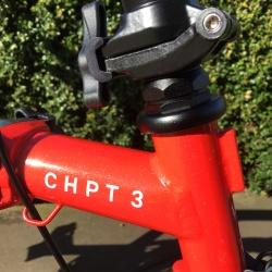 Brompton 2018 CHPT3 Edition 2-speed - CHPT3 badge