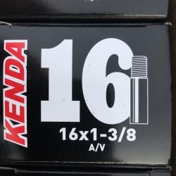 Kenda inner tube 16 x 1 3/8 inch / 37-349 - Schrader valve