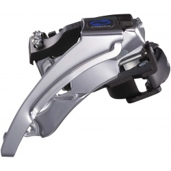 Shimano FD-M310 Altus front derailleur, dual-pull, multi-fit, top swing