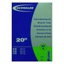 Inner tube 20 x 1 1/8 to 1.50 inch by Schwalbe - AV6, schraeder valve