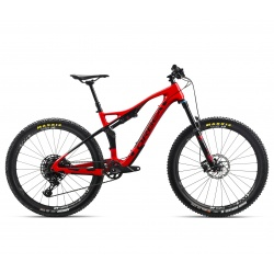 Orbea Occam AM M30 mountain bike 2019 - red - side view