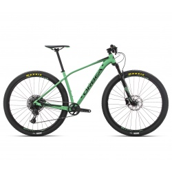 Orbea Alma H10 aluminium frame hardtail MTB - 2019 - Mint and green