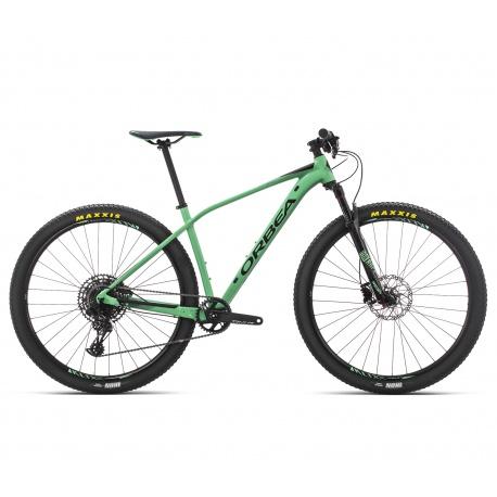 Orbea Alma H10 aluminium frame hardtail MTB - 2019 - Mint and green