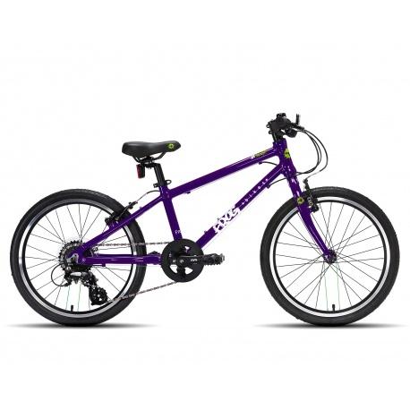 Frog 55 kids bike - purple - side view