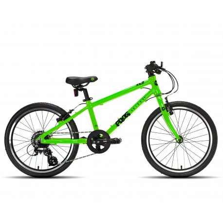 Frog 55 kids bike - green - side view