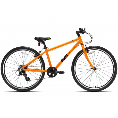 Frog 69 childs bike - orange - side view