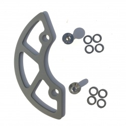 Occam ISCG Chain Drop Protector - back side