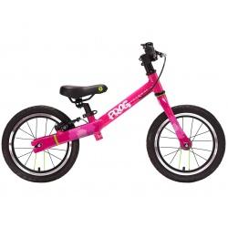 Frog Tadpole PLUS balance bike - pink - side view