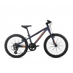 Orbea MX20 Dirt Kids mountain bike 2019 - black and orange side view